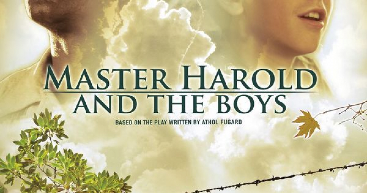 the relationship between sam and hally in the play master harold and the boys Directed with an eye for detail by reginald l douglas, the play follows a coming-of-age story of the young white boy hally — or harold — and his relationship with his two black servants, sam and willie.