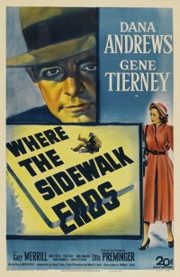 Where the Sidewalk Ends (1950)